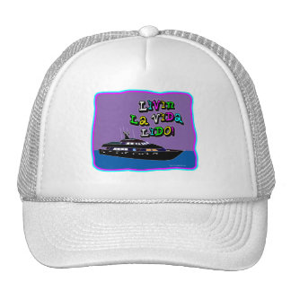Livin La Vida Lido! Hats