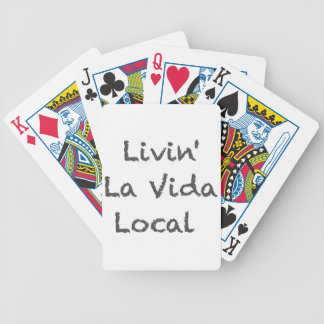 Livin La Vida Local Poker Deck