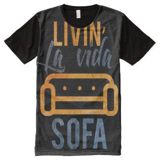 Livin' la vida sofa All-Over print T-Shirt