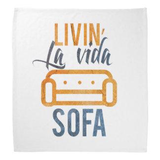 Livin' la vida sofa bandanas