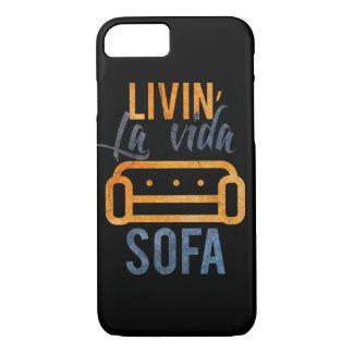 Livin' la vida sofa iPhone 7 case