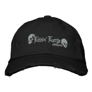 Livin' Large Apparel Stitch Cap Embroidered Hat