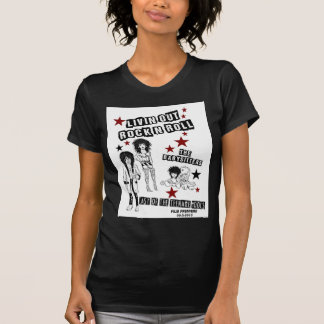 LIVIN OUT ROCK N ROLL FILM PREMIERE MERCHANDISE T SHIRTS