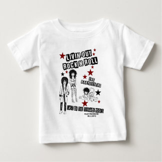 LIVIN' OUT ROCK'N'ROLL FILM PREMIERE MERCHANDISE BABY T-Shirt