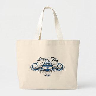 Livin The Isreal Life Jumbo Tote Bag