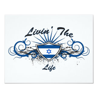 Livin The Isreal Life Personalized Announcement