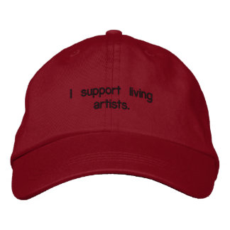 Living Artists Hat Embroidered Baseball Caps