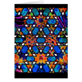 Living Church Geo Fractal Greeting Cards