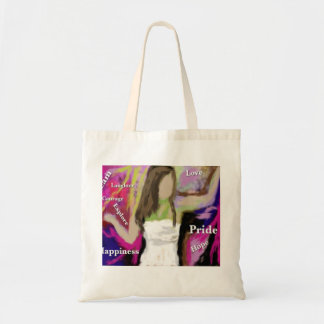 Living Colourful is a Choice Budget Tote Bag