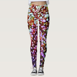 Living Coral Reef Leggings