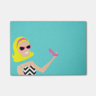 Living Doll Post It Notes Sticky Note