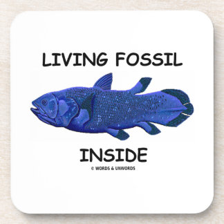 Living Fossil Inside (Coelacanth) Coaster