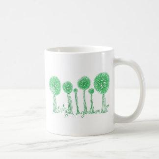 Living Green Basic White Mug