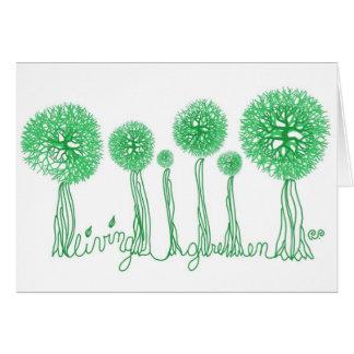 Living Green Greeting Card