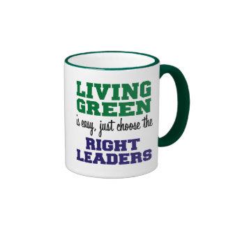 Living Green is Easy Coffee Mug