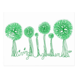 Living Green Postcard