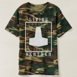 Living Heathen Camouflage T-Shirt