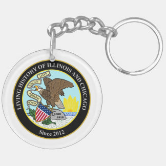 Living History of Illinois and Chicago® Group Key Ring
