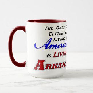 Living In Arkansas! 15 oz Combo Mug