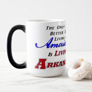 Living In Arkansas! 15 oz Morphing Mug