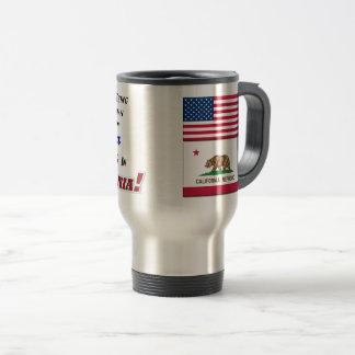 Living In California! 15 oz Travel/Commuter Mug