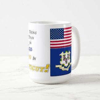 Living In Connecticut! 15 oz Classic Mug