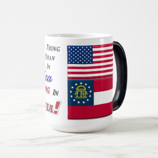 Living In Georgia! 15 oz Morphing Mug