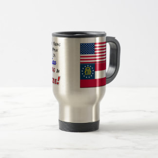 Living In Georgia! 15 oz Travel/Commuter Mug