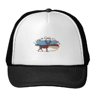 Living in Gods Country Cap