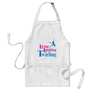 Living Laughing Twirling Standard Apron