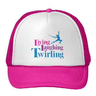 Living Laughing Twirling Mesh Hats