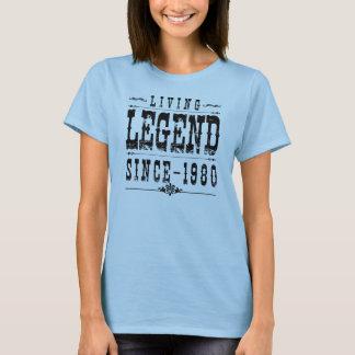 Living Legend Since 1980 T-Shirt