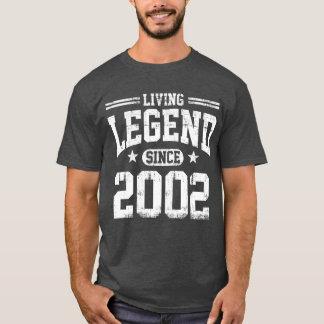 Living Legend Since 2002 T-Shirt