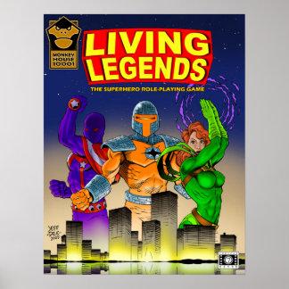 LIVING LEGENDS Cover Poster