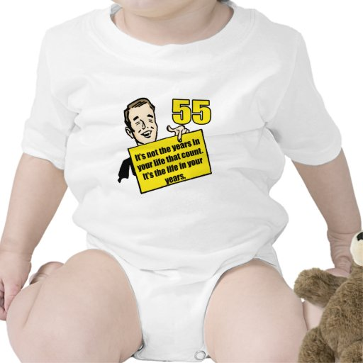 Living Life 55th Birthday Gifts Shirt