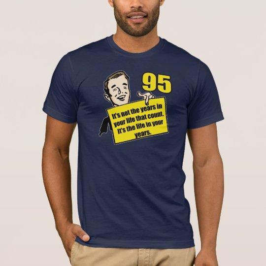 Living Life 95th Birthday Gifts T-Shirt