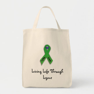 Living Life Through Lyme Tote Bag