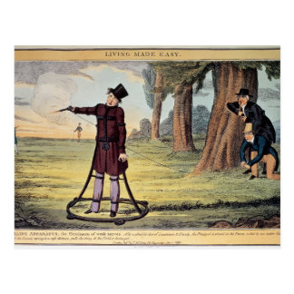 Living Made Easy; duelling apparatus Postcard