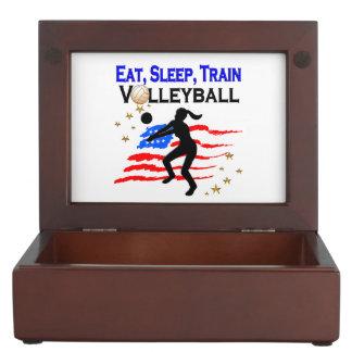 LIVING MY VOLLEYBALL DREAM DESIGN MEMORY BOX