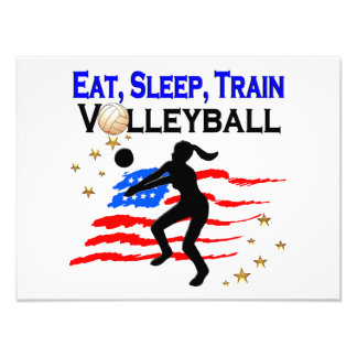 LIVING MY VOLLEYBALL DREAM DESIGN PHOTO
