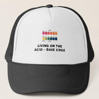 Living on the Acid / Base Edge Trucker Hat