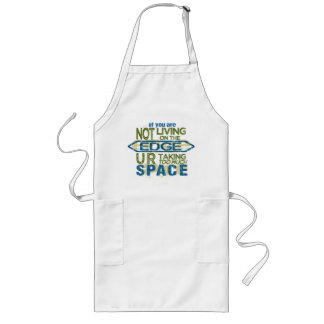 Living On The Edge apron - choose style, color