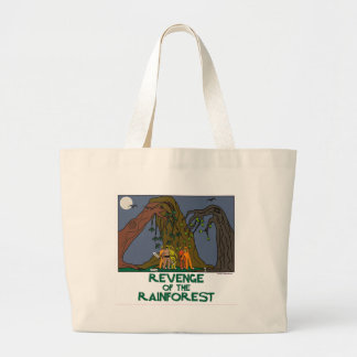 Living planet. Mother Nature. Plant a tree. Earthy Jumbo Tote Bag
