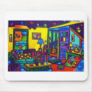 Living Room # 1 by Piliero Mouse Pad