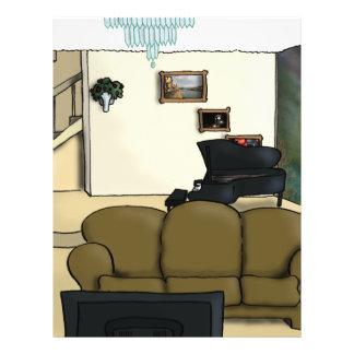 Living Room 21.5 Cm X 28 Cm Flyer