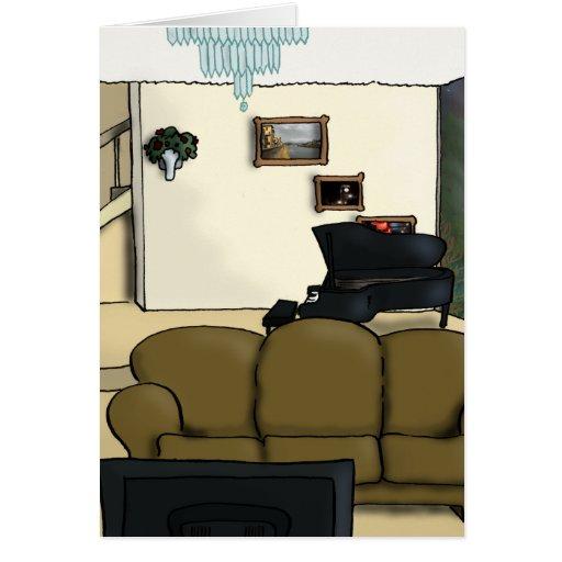 Living Room Card
