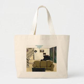 Living Room Jumbo Tote Bag