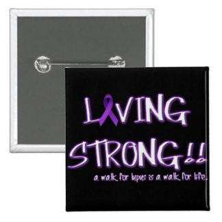 Living Strong Pin