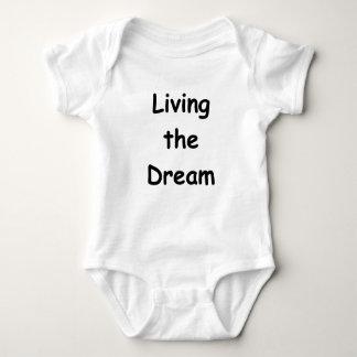 Living The Dream Baby Bodysuit