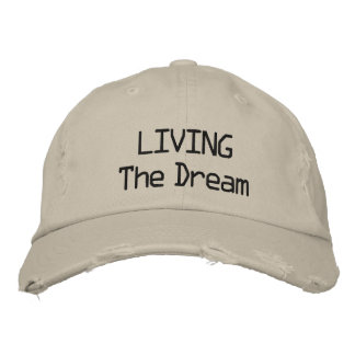 LIVING The Dream cap Embroidered Hats